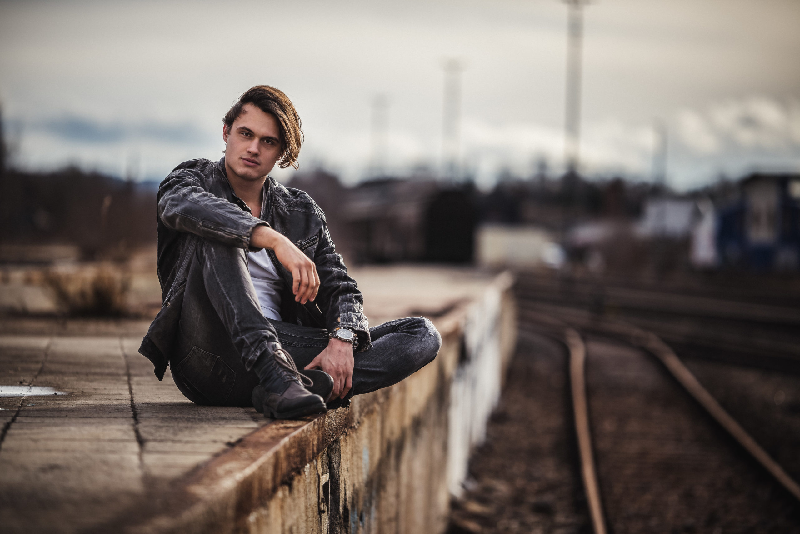 cooles Männerportrait Portraitfotoshooting