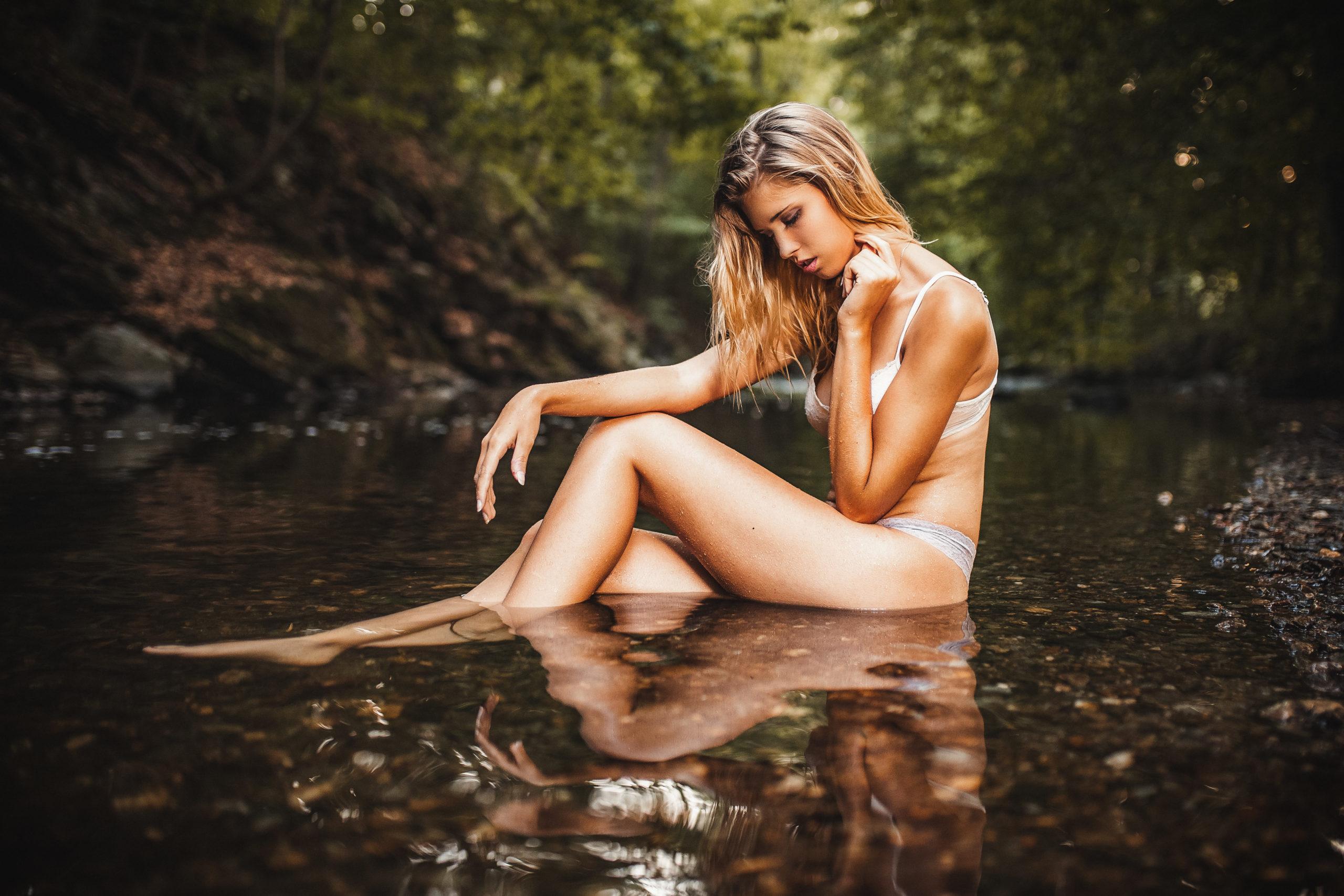 erotische Fotos in der Natur